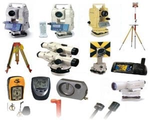 survey equipment hire